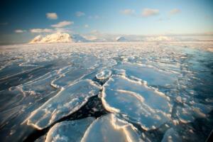 Spitzbergen, Eismeer