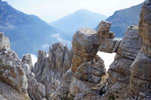 Felsenfenster Latemar