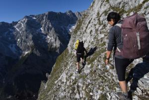 Großer Waxenstein, Schaftsteig, Wettersteingebirge; Copyright Martl Jung