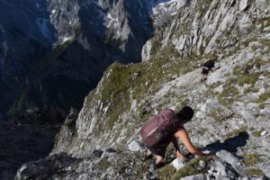 Gr. Waxenstein, Wettersteingebirge, Richtung Schafsteig, Copyright: Martl Jung