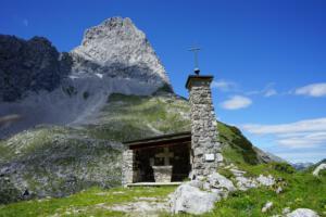 Kapelle unterhalb Lamsenspitze, Karwendel