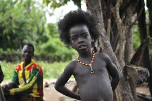 Boy of the Malle tribe