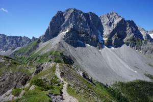 Lamsenspitze; Karwendel; angle: from Hahnkampl