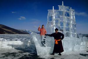 Eisskulptur_Mongolei
