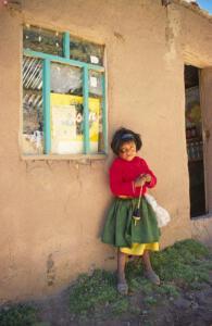 Titicacasee_PeruanischesMädchen